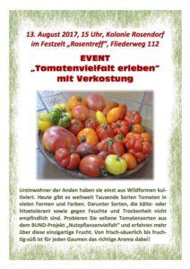 Tomatenvielfalt erleben