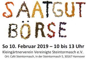 BUND - Samenbörse @ Café Steintormasch
