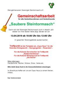 Saubere Steintormasch @ Vereinsgelände KGV